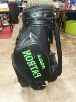 The Club Glove Patron Tequila Leather Golf Bag