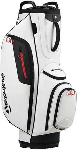 TaylorMade TM Cart Lite Golf Bag White New 2017