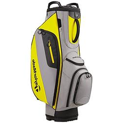 New TaylorMade TM Cart Lite Golf Bag Gray/Yellow 2017