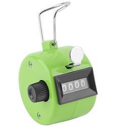 Adahill Digital Hand Tally Clicker/Counter 4 Digit Number Cl