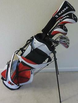 Top Line Ladies Purple Right Handed M5 Golf Club Set for Tal