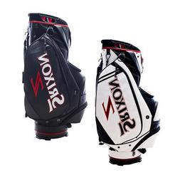 "NEW Srixon Tour Cart Golf Bag 9"" 14-way top 6 Pockets - Choo"