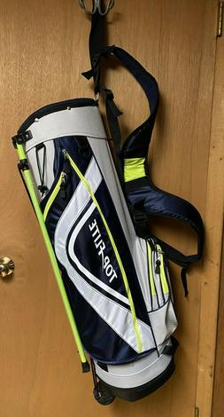 Top Flite Tour Stand Women's Golf Bag w/ Backpack Strap Gray