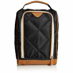 Callaway Women's Up Town Shoe Bag, Black/Brown