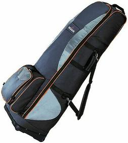 Travel Golf Cover With Wheels/Travel Case NWG - Black Travel
