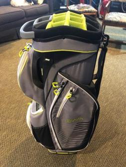 ping traverse golf bag Steel/Lime