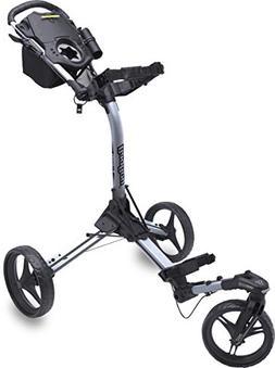 Bag Boy Triswivel II Push Cart Black/Silver