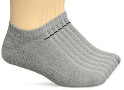 NIKE Unisex Performance Cushion No-Show Socks with Bag , Dar