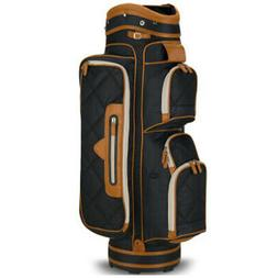 Callaway Uptown Women's Cart Bag-Black/Brown
