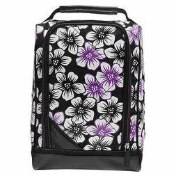 Callaway Uptown Floral Golf Shoe Bag Black/White Footwear Ca