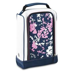 CALLAWAY UPTOWN GOLF SHOE BAG - FLORAL - NEW 2019