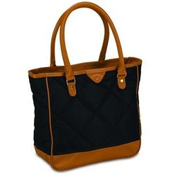 Callaway Womens Uptown Tote Bag-Black/Brown