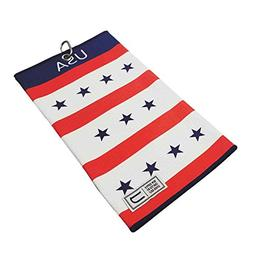 USA Patriot by Uther - Tri-Fold Microfiber Golf Towel - Amer