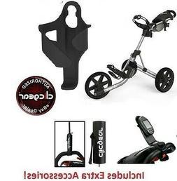 Best Value New Clicgear 3.5 Golf Push Cart + EXTRAS Grey Gra