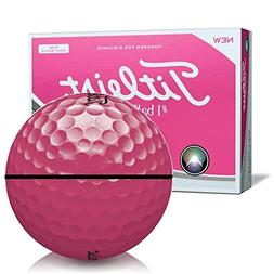 Titleist Velocity Pink AlignXL Personalized Golf Balls