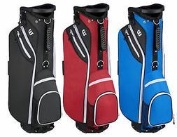 Wilson W Cart Bag Lightweight New - Choose Color!