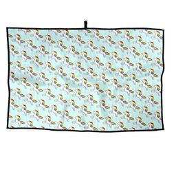 Eplus Waffle Microfiber Golf Towel Light Weight & Quick Dryi