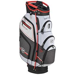 Wilson Staff Nexus III Cart Bag, White/Red