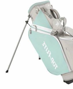 Top Flite Women's 2018 Lightweight Stand Golf Bag Mint/Gray