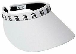 Women's Clip Visor Golf & Tennis Head Visors for Women - UV