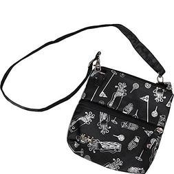 GloveIt Women's Golf Accessory Bag - Ladies Detachable Str
