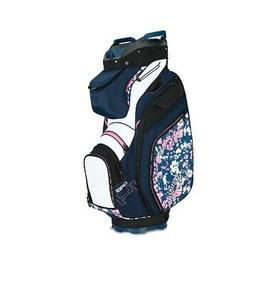 CALLAWAY WOMENS UPTOWN CART GOLF BAG - NEW 2019 - FLORAL/NAV