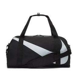 NIKE Young Athletes Gym Club Kids Sports Duffel Bag, Black/G